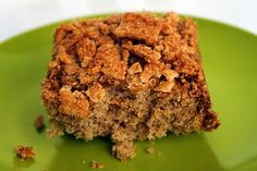 Cinnamon Cavity Cake -  Cinnamon Toast Crunch recipes curated by SavingStar Grocery Coupons. Save money on your groceries at SavingStar.com