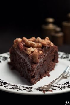 Chocoladetaart glutenvrij