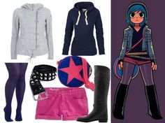 Ramona Flowers style.  I pretty much just want to be her.