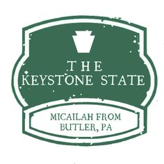 A reader has stamped in from Butler, Pennsylvania!