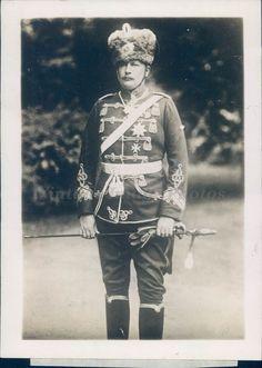 1920s Photo German Kaiser Rumor European Prince Hitel Fritz Empress Royalty Rare