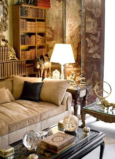 ♔ Mademoiselle Chanel's private apartment ~ Paris