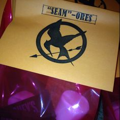 Hunger Games Party - Treats. Thanks for the name Cari!!