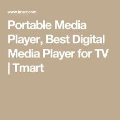 Portable Media Player, Best Digital Media Player for TV | Tmart