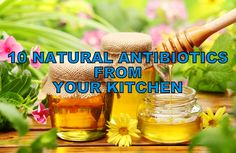List Of 10 Natural Antibiotics From Your Kitchen