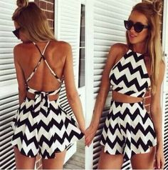 2017 cheap clothes china macacao feminino Two piece outfits playsuit bodysuit Backless stripe jumpsuit print bodycon women s-xl Two Piece Dress, Two Piece Outfit, Black Jumpsuit Outfit, Jumpsuit Shorts, Short Jumpsuit, Short Playsuit, Dress Pants, Bodycon Jumpsuit, Ladies Jumpsuit