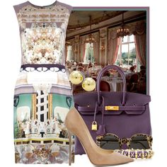 Lunch at The Ritz Hotel by ssquared on Polyvore