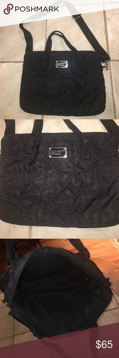 Marc by Marc Jacobs laptop bag Black laptop bag with adjustable strap. In excellent condition. Adorable bag Marc by Marc Jacobs Bags Laptop Bags