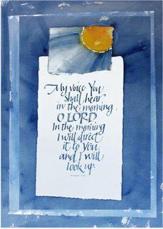 Art du Jour by Martha Lever: My Voice