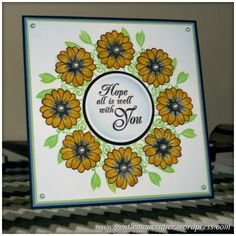All's Well That Ends Well - An Inkadinkado Stamping Gear Card