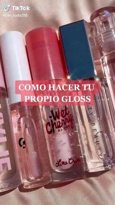 Makeup Videos, Makeup Tips, Eye Makeup, Model Makeup Tutorial, Diy Beauty Care, Gloss Labial, Facial Tips, Diy Lip Gloss, Beauty Tips For Glowing Skin