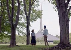 Pseudonymous filmmaker Kogonada makes a big splash in his first feature, starring the appealing Haley Lu Richardson and John Cho. Columbus Movie, Columbus Indiana, Movies To Watch, Good Movies, Ingrid Goes West, Michelle Forbes, Haley Lu Richardson, John Cho, Life Moves Pretty Fast