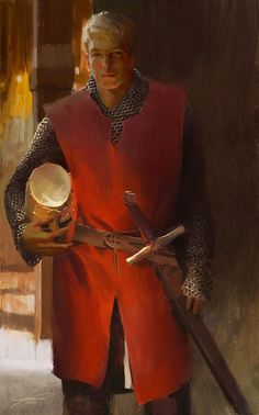 Man at Arms Character Concept, Character Art, Concept Art, Fantasy Portraits, Character Portraits, Fantasy Armor, Medieval Fantasy, Dnd Characters, Fantasy Characters