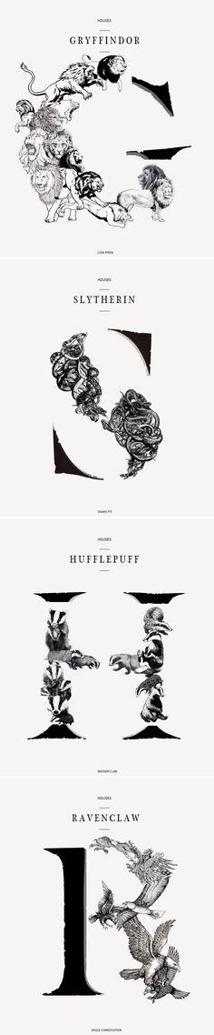 Houses Harry Potter