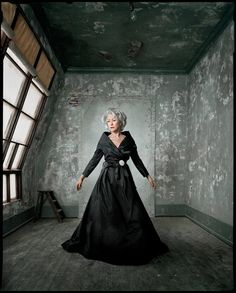 Dan Winters portrait work blows my mind. He has such a distinct style that works for him. http://danwintersphoto.com