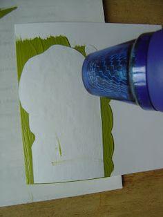 tuto transfert de photocopie sur papier ou chassis avec de la peinture acrylique