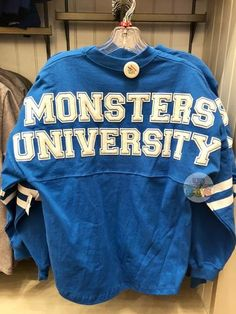 Are you Monster University Fan? Show your spirit in this beautiful jeresy. Material: Cotton Jersey Size Chart for Reference (Women's Chest Size): XS - S - M - L - XL - XXL - Disney Dorm, Disney College, Disney Trips, Disneyland Trip, Disney Disney, Disney Magic, Cute Disney Outfits, Outfits For Teens, Cute Outfits