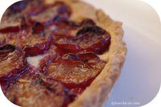 tarte aux prunes d'Ente fourclavier.com