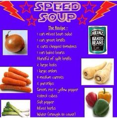 Speed soup at slimming world Aldi Slimming World, Slimming World Speed Food, Slimming World Recipes Syn Free, Slimming Eats, Healthy Eating Recipes, Diet Recipes, Recipies, Savoury Recipes, Healthy Lunches