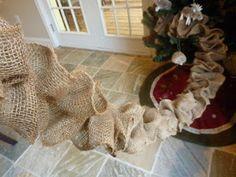 ~~~~~~~~~Created Twists - burlap garland