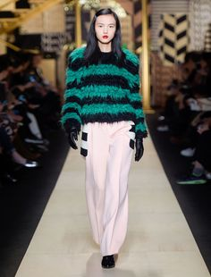 Max Mara BAIRO verde: Maglia in mohair e lana.