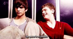just because i'm useless doesn't mean i am nothing. Cook Skins, Im Useless, Jack O'connell, Luke Pasqualino, I Am Nothing, Skins Uk, Just Love, James Cook, Season 3