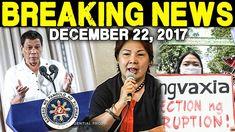 BREAKING NEWS TODAY DECEMBER 22 2017 PRESIDENT DUTERTE l SANDRA CAM l DE...