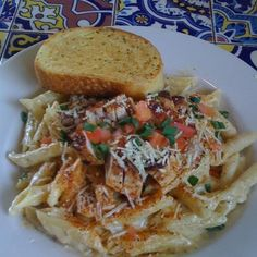 Chili s Copycat Cajun Chicken Pasta from Food.com  								I can never get enough of Chili's whether it's just their fresh salsa and bottomless tortilla chips or their Quesadilla Explosion salad!  So here's yet another Chili's favorite to try at HOME!