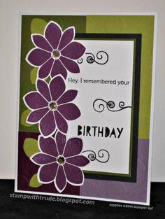 I Remembered! Birthday Card