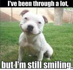 You can ALWAYS find something to smile about!
