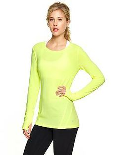 GapFit Breathe Long-Sleeve Tee #ihave5