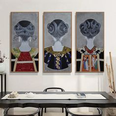Dining Room Wall Art, Wall Art Decor, Room Art, Room Decor, Canvas Art Prints, Canvas Wall Art, Flamingo, Nordic Art, Modern Artwork