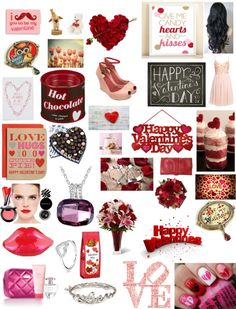 """Valentine's Day!"" by neha-mohammad ❤ liked on Polyvore"