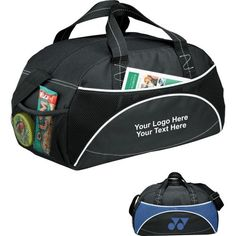Pastel Point Duffel Style Carry On Sports Travel Bag with Shoulder Strap Zippered Compartments