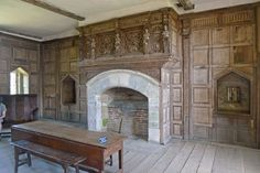 fireplace and panelling