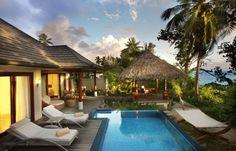 Deluxe Beachfront Pool Villa im Hilton Seychelles Labriz Resort & Spa - einfach traumhaft!