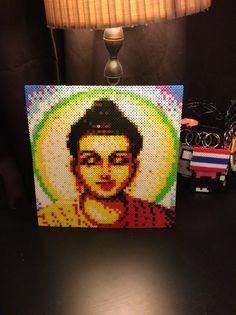 Buddha Perler beads Portrait