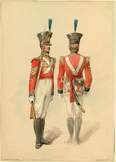 British; Coldstream Guards, Sergeant Light Company 1821 by Dennis Dighton.
