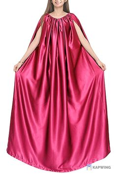 Gown (hot Pink), Bath Robe, Full Body Covering, Soft and Sleek Fabric, eco-Friendly
