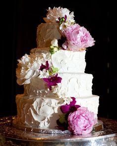 Romantic Wedding Cakes - Pretty Wedding Cakes | Wedding Planning, Ideas & Etiquette | Bridal Guide Magazine
