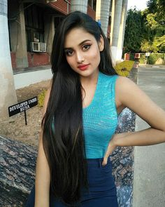 Image may contain: 1 person, standing and outdoor Beautiful Girl Indian, Most Beautiful Indian Actress, Beautiful Girl Image, Beautiful Actresses, Long Indian Hair, Stylish Girl Pic, Fashion Tips For Women, India Beauty, Cute Woman