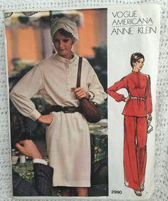 Vogue Americana Anne Klein Dress Tunic and Pants by Vntgfindz