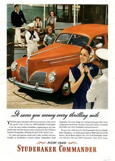 1940's advertising | old car ads home | old car brochures | old car manual project ...