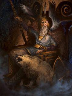 Odin by hfesbra
