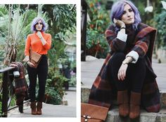 Orangener Rollkragenpullover, CINQUE Mantel, braune Fransenstiefel, Herbstmantel Orange, Trendfarbe Rost, Herbst Look, Mode Blog, Fashion Blog, Like A Riot, Fall Style, Fall Fashion, Autumn Outfit