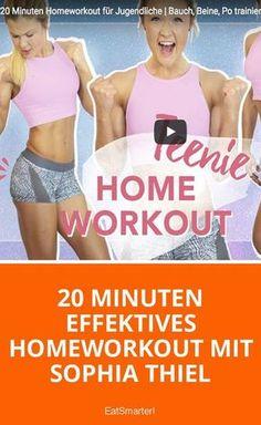 20 Minuten effektives Homeworkout mit Sophia Thiel - jetzt ausprobieren | eatsmarter.de