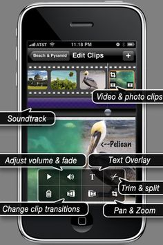 ReelDirector is the and the most feature rich, powerful video editor for iPhone, iPad and iPod Touch.for Tanner! Apple Apps, Apple Mac, Camera Hacks, Camera Tips, Good Video Editing Apps, Best Camera, Camera Roll, Mobile Technology, All In One App
