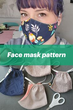 face mask diy sewing pattern If your hospitals and medical professionals are collecting DIY face mask, find our pattern in Cricut Design Space. Sewing Patterns Free, Free Sewing, Free Pattern, Embroidery Patterns, Pattern Sewing, Serger Patterns, Corset Pattern, Sewing Diy, Hand Embroidery