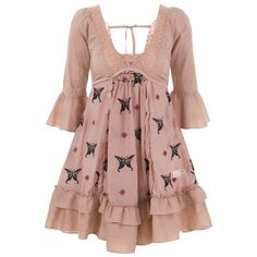 Designer Clothes, Shoes & Bags for Women Boho Dress, Dress Up, Odd Molly, Butterfly Dress, Embroidery Dress, Babydoll Dress, Cotton Silk, Bohemian Style, Beautiful Outfits