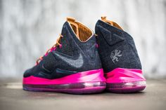 "Releasing: Nike LeBron X EXT ""Denim"""